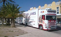 Removal Company in Alicante Spain