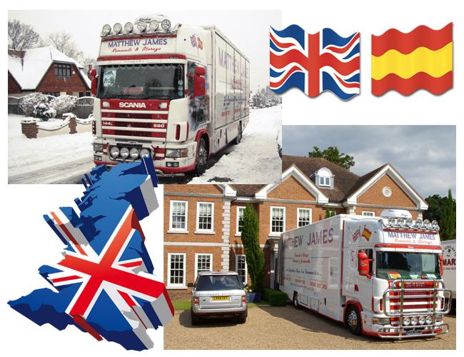 Removal Company to UK / England