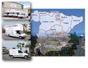 Removals from Spain to Algarve