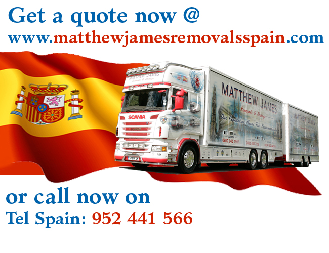 Removal Company in Spain