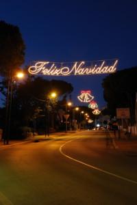 christmas in Calahonda Spain