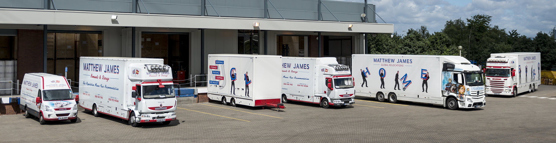 Matthew James Removals Depot